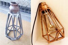 pipe lamp cover